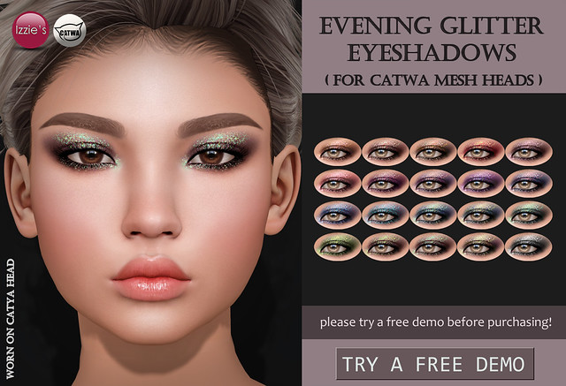 Evening Glitter Eyeshadows (Catwa)