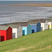 Beach Huts, Tankerton, Kent