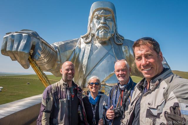 Mongolia Chiggis Khan Monument-15