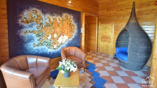 Hotel Ranga Iceland Review - Hotel Ranga reception area - luxury accommodation