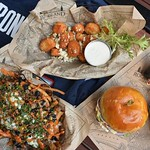 FORKYEAH. ITS GAME DAY! Join us and @heavyseasbeer for our NFL Kick off party! We are rolling out with a special menu including our G.O.A.T burger, buffalo pretzel bites and more. We are also raffling off a pats jersey! Hope to see you there. #gopats - -
