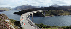 Kylesku Bridge Roadworks