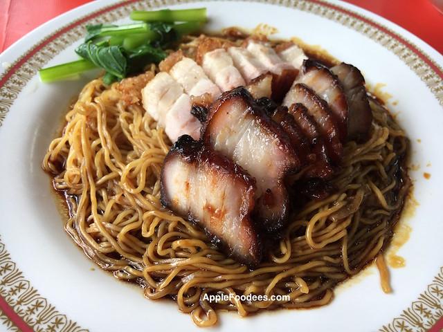 Roast Pork & Char Siew Wanton Mee