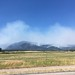Wildfires in the mountains, Lincoln, Montana