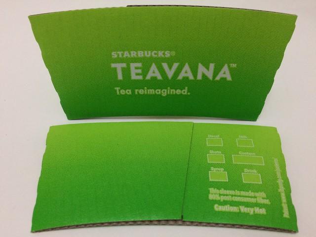 Starbucks Taiwan 星巴克 TEAVANA green
