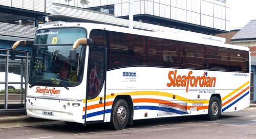 YCT 463 'Sleafordian'  Volvo B12M / Transbus Paragon on 'Dennis Basford's railsroadsrunways.blogspot.co.uk'