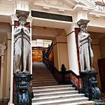 Corte Suprema de Justicia, escaleras de acceso, septiembre 2017