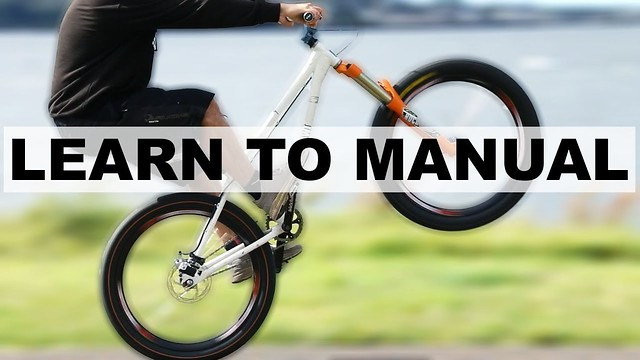 自転車乗りが憧れるテクニック「マニュアル」を10時間45分でマスターするYoutuberがいるぞ!