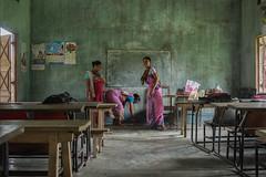 Teachers in Assam (India)