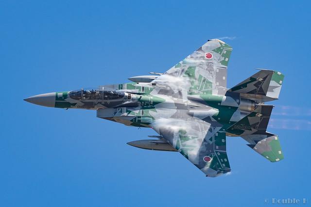 Komatsu AB Airshow Rehearsal 2017.9.14 (41) Aggressor F-15DJ #074