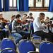 Avison Ensemble performance workshop, Queen Elizabeth Sixth Form College, Darlington, Wednesday 20th September 2017