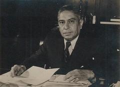 Jeronimo Mendez Arancibia, el presidente de Chile  1941-1942, con el tiempo apareció esta otra imagen de J Méndez