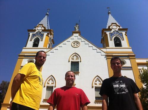 Frailes Amigonianos que profesarán sus votos en el Colegio San Hermenegildo