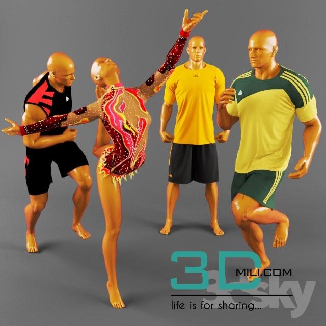 10  Soccer Clothing 3D Models for Download - 3D Mili