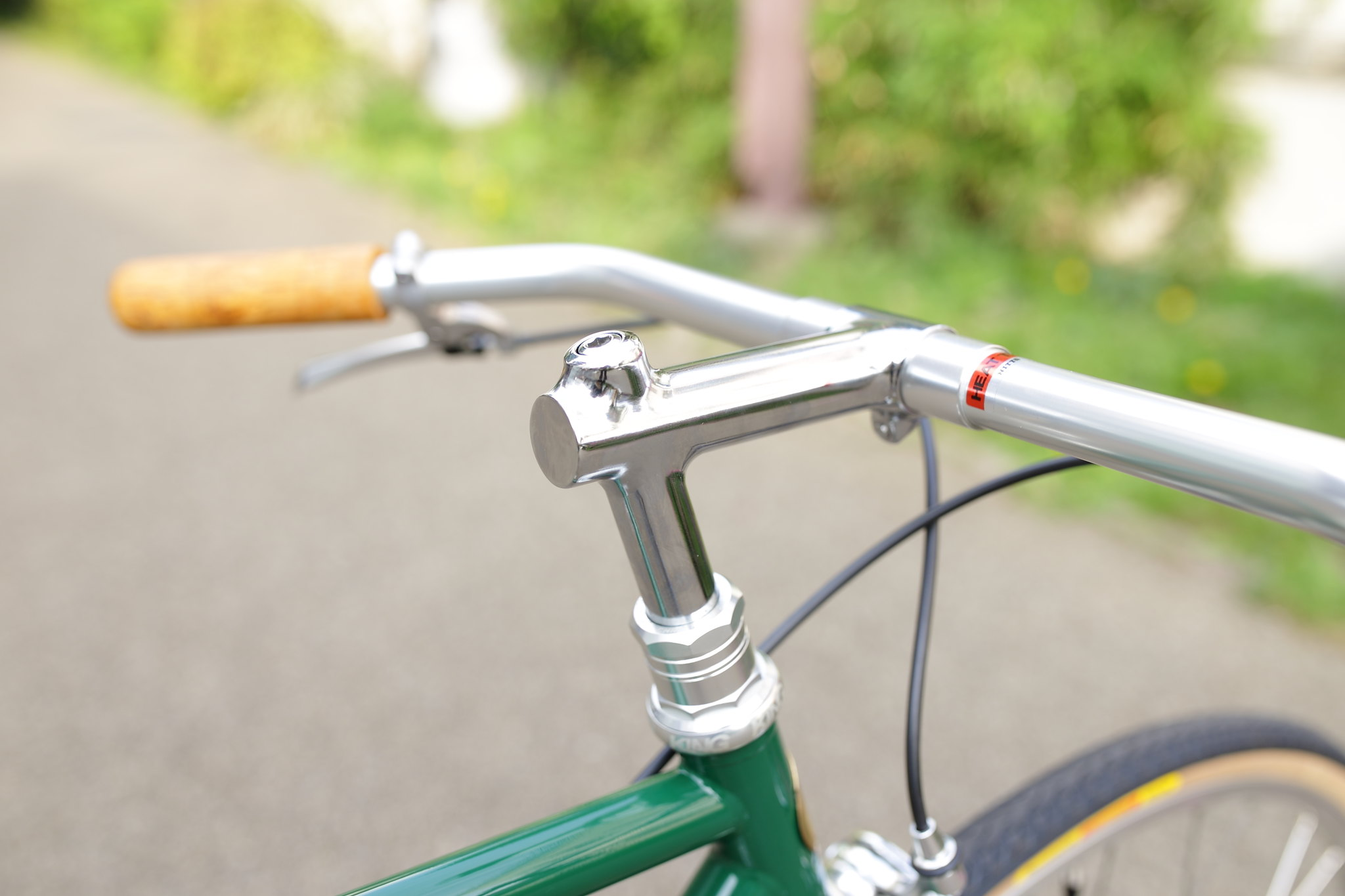 Frame:*FAIRWEATHER* track BLUE LUG CUSTOM PAINT by COOK PAINT WORKS
