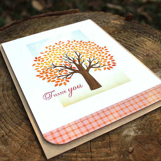 Autumn Thank You Card 4