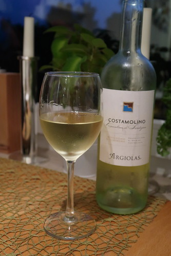 "Sardinischer Weißwein (""Costamolino"" Vermentino di Sardegna DOC 2016)"