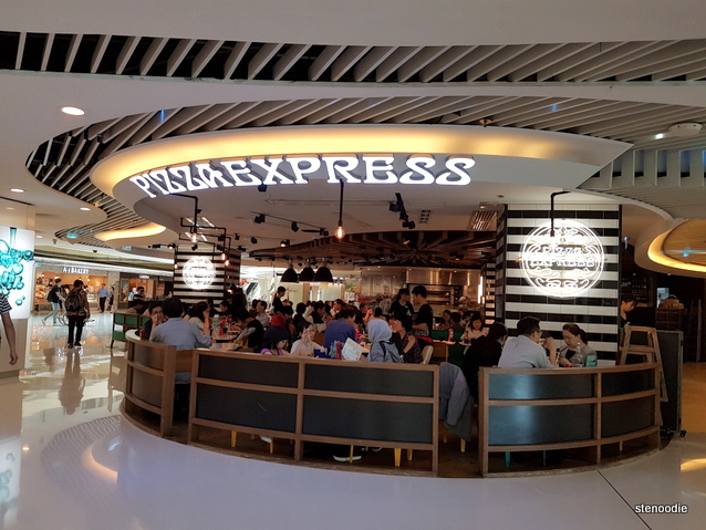 Pizza Express in Shatin plaza