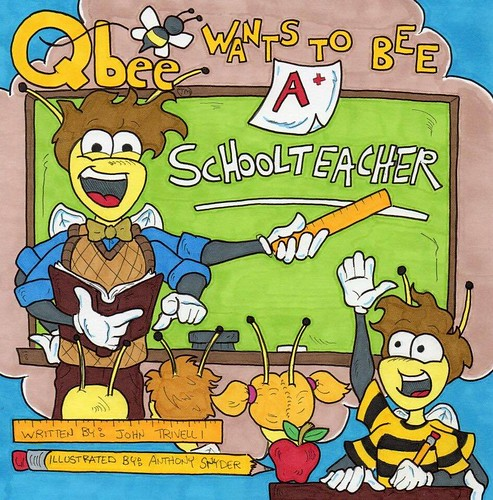 QBee wants to be a schoolteacher. Art by Anthony Snyder