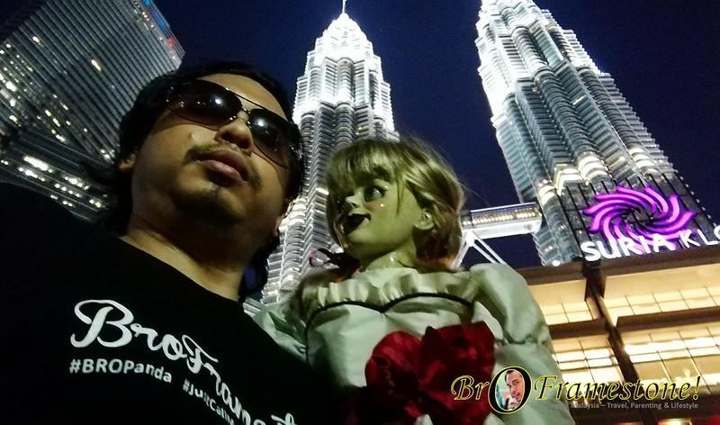 Patung Annabelle ditemui sekitar Kuala Lumpur