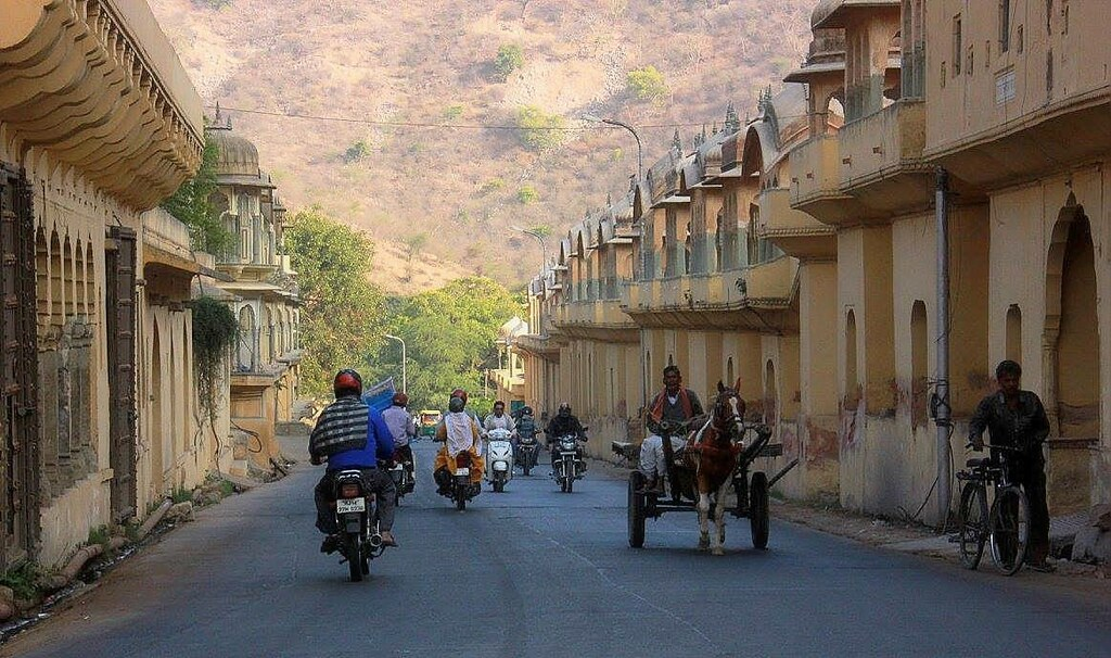 The beautiful lanes in Jaipur photo blog