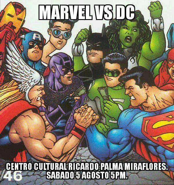 Marvel vs DC | Choque de Mundos