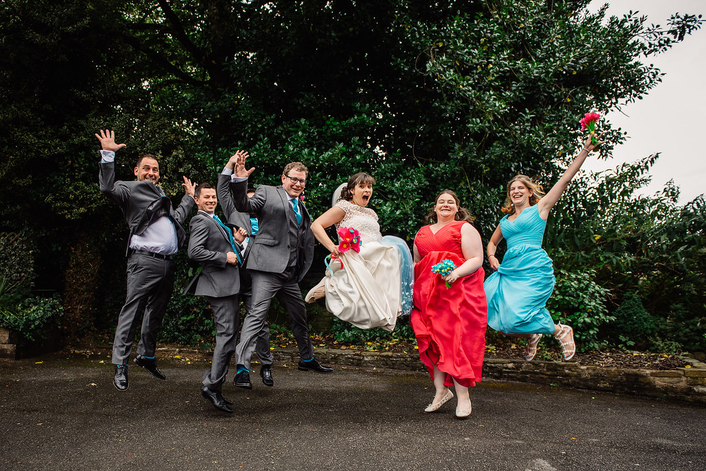 wedding day - jump