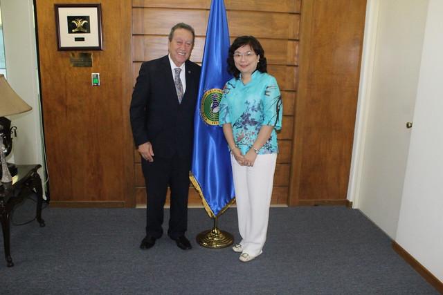 Embajadora de la República de China (Taiwán) reitera el apoyo de su país al proceso de Integración Regional