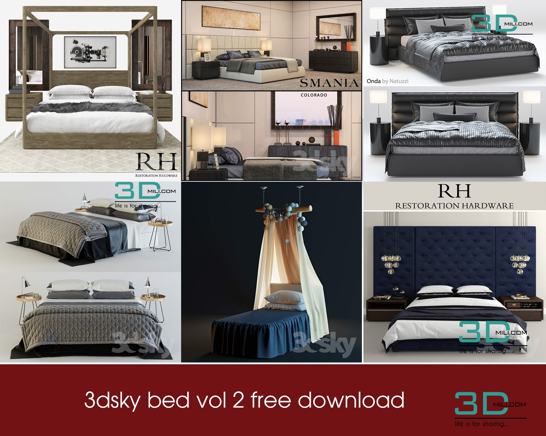 3dsky bed vol 2 free download - 3D Mili - Download 3D ...
