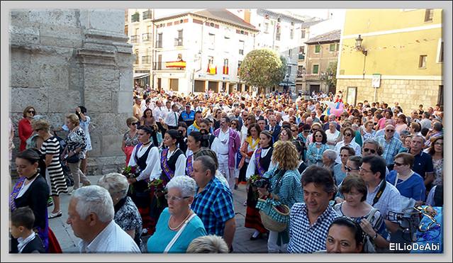 #BriviescaFiestas17 Procesión del Rosario  y Canto de la Salve (4)