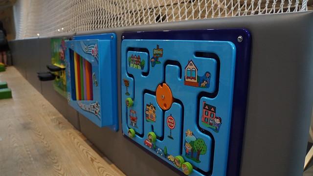 適合1-3歲的寶寶的遊具@童樂島親子餐廳