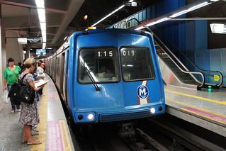 Metro Station in Rio De Janeiro, Brazil
