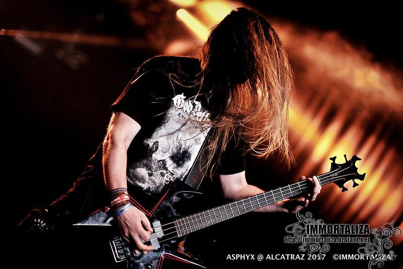 ASPHYX @ Alcatraz Hard Rock & Metal Festival 2017 36065000564_143b9e7f68_c