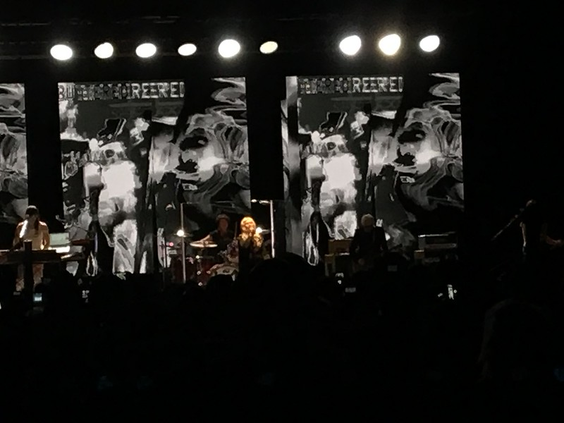 Rage + Rapture tour. Garbage and Blondie