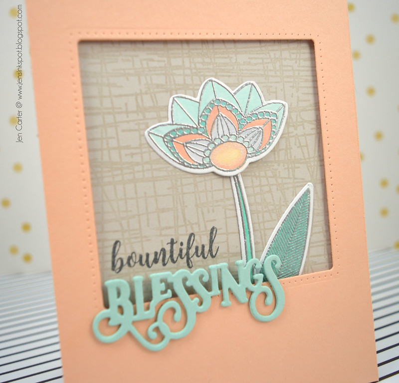 Jen Carter Hatch Bountiful Blessings Grateful Florals Closeup