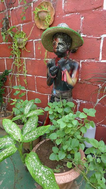 afro-cuban statue