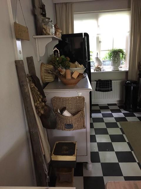 Keuken brocante landelijk
