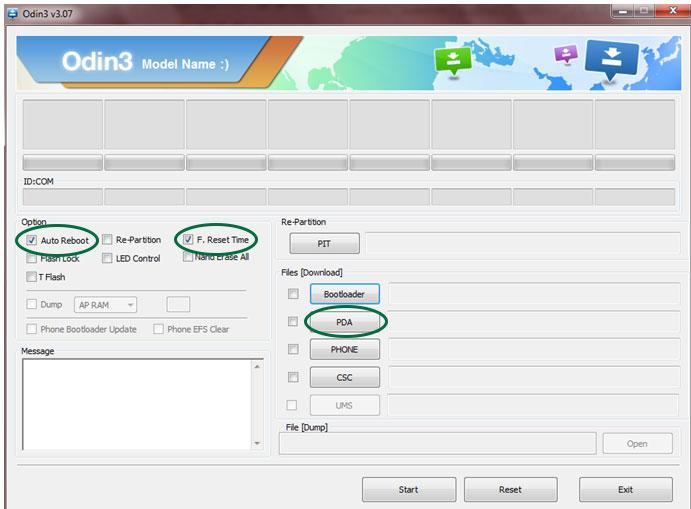 Instalare custom recovery pe dispozitivul Samsung rapid si simplu 138