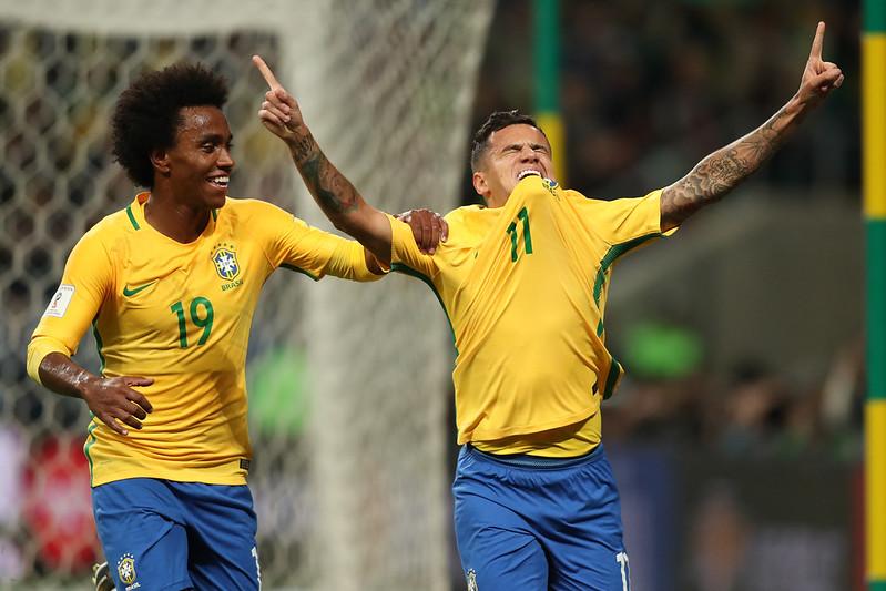 Brasil x Equador na Arena do Grêmio