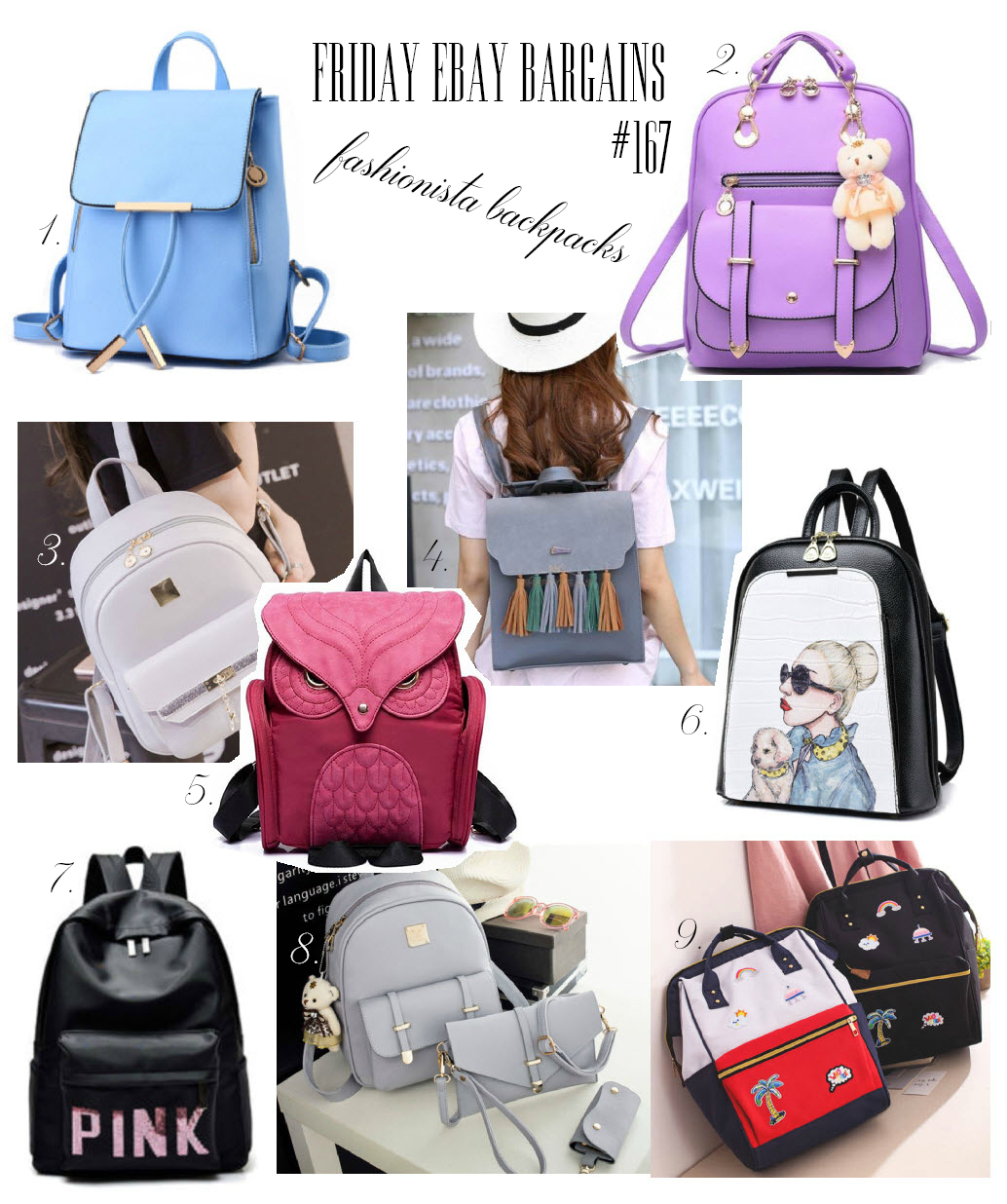 Ebay backpacks