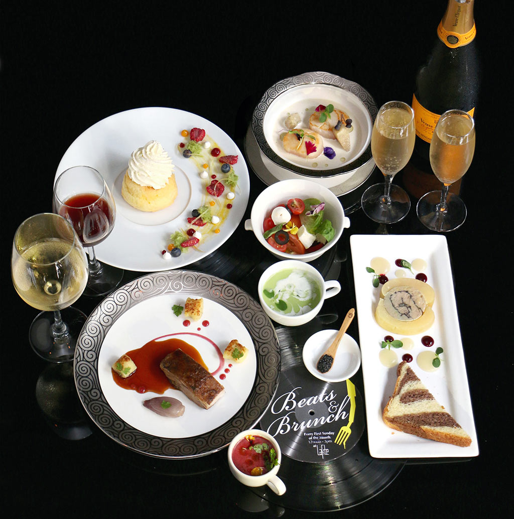 7.-The-menu-for-Beats-and-Brunch-consists-of-delicious-entrees,-main-courses-and-desserts-with-free-flow-of-Veuve-Clicquot-champagne-and-wine