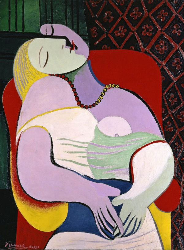 Pablo Picasso The Dream (Le Rêve) 1932
