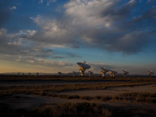 The Very Large Array radio observatory