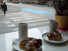 Pastries, in Denmark - but NOT Danish pastries