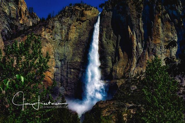 Upper Yosemite Falls, Nikon D70S, AF-S Nikkor 24-120mm f/4G ED VR