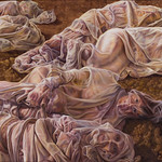 Irene Delka McCray; Messengers; Oil; 2007; Represented by Sandra Phillips Gallery -