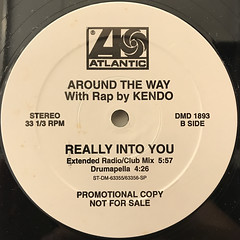 AROUND THE WAY:REALLY INTO YOU(LABEL SIDE-B)