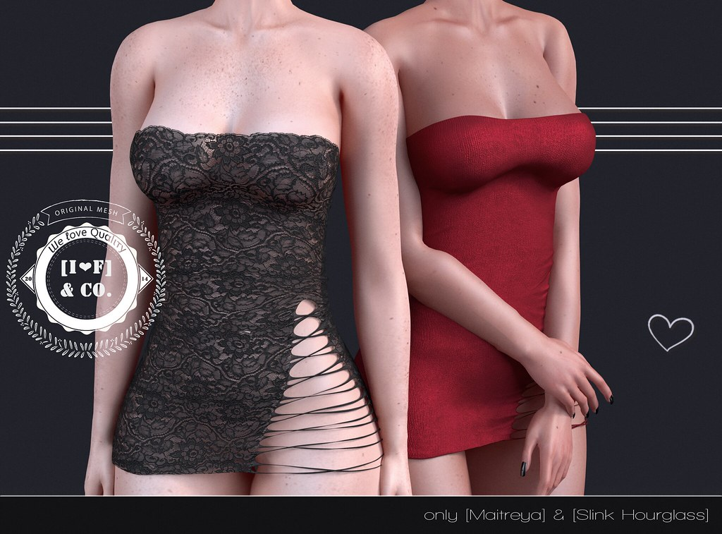 [I<3F] Dress [15] @FetishFair - SecondLifeHub.com