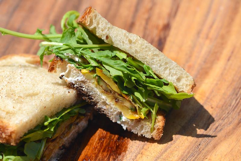 Summer Squash Sandwiches