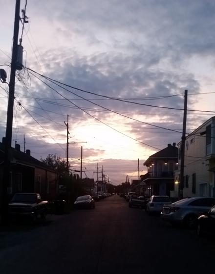 Summer Evening Street
